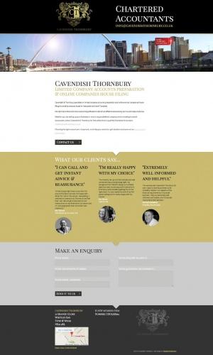 Cavendish Thornbury Website Design
