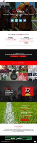 BetShare Website & Interactive Game
