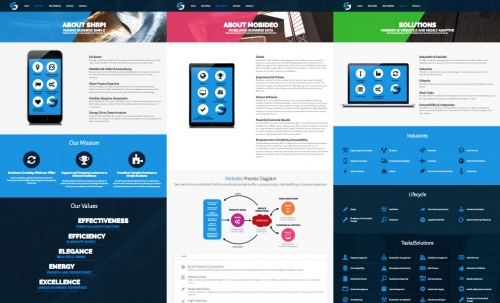 Shrpi Web Design | Maddison Creative