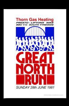Great North Run Poster