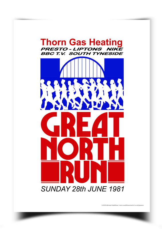 Great North Run Poster