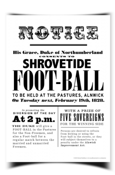 Shrovetide Tuesday Poster