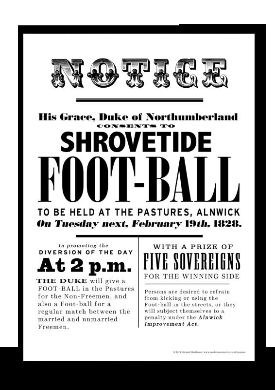 Shrovetide Tuesday Poster