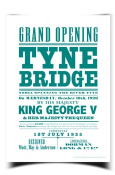 Tyne Bridge Poster | Maddison Creative