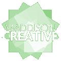 Maddison Creative Logo - Green Bkg
