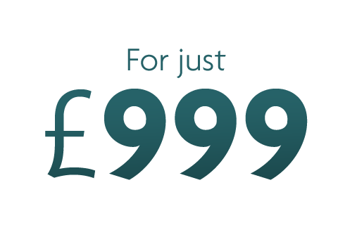 Package price of just £999