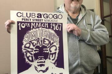 Maddison Creative Designed - Jimi Hendrix Poster