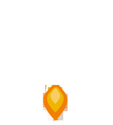 Maddison Creative Rocket Flame